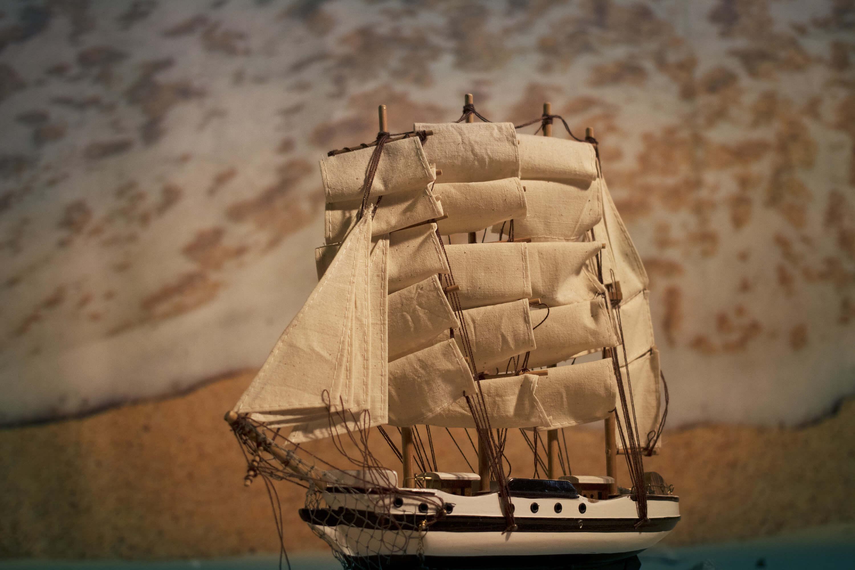 Schiff im Sand